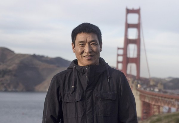 Dhondup Wangchen in San Francisco, 26 December, 2017
